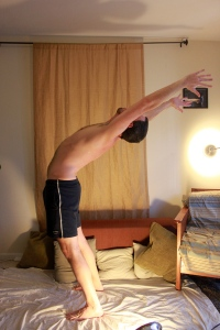 Stading Backbend